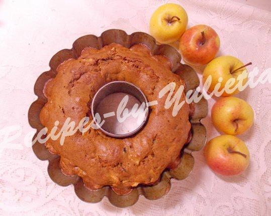 bake apple cake