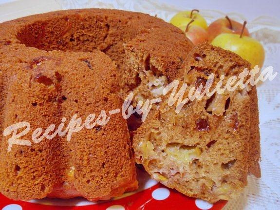 spice apple cake