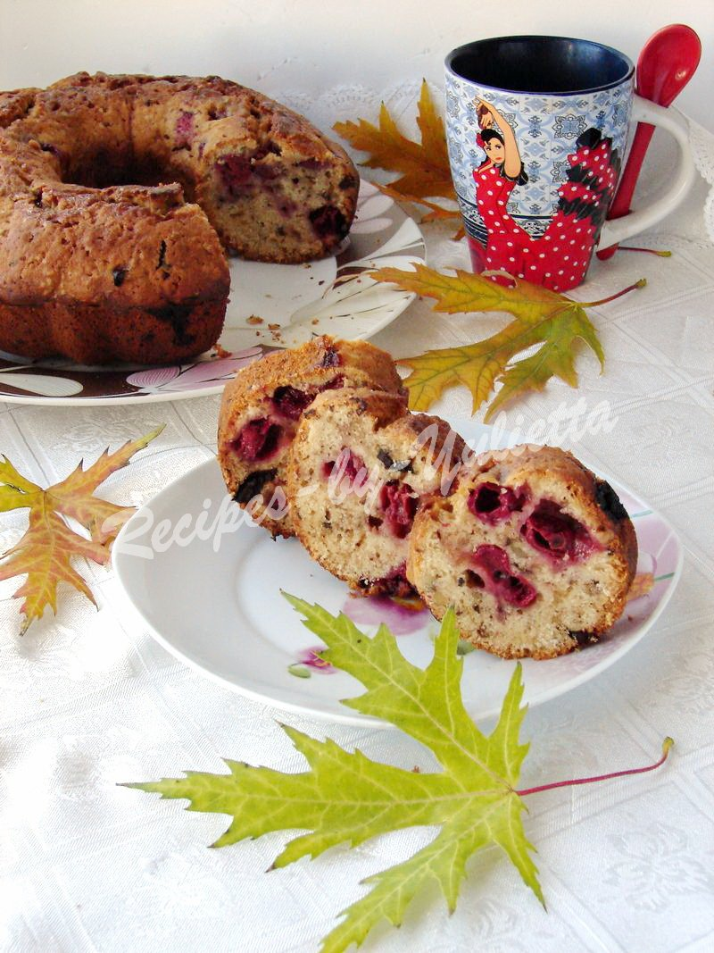 maple cherry cake
