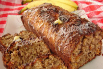 Easy banana oatmeal cake