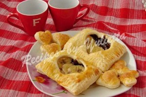Puff Valentine's day recipe: Puff pastry Hearts