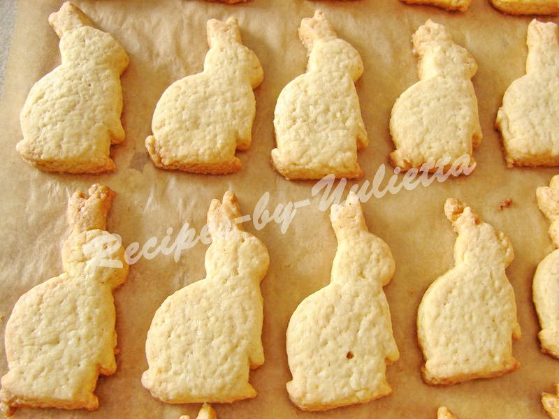 how to cook easter bunny cookies