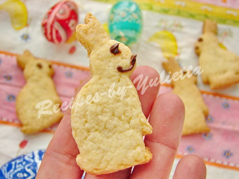 easter bunny cookies for children