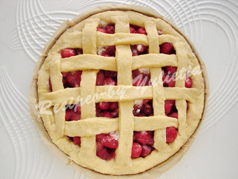 make a grate on the pie