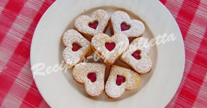 Hearts Cookies for Valentine's Day