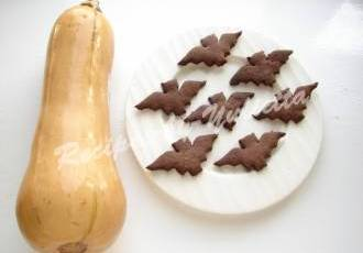 Chocolate Bat Cookies for Halloween