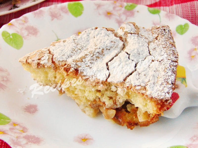 apple sponge pie