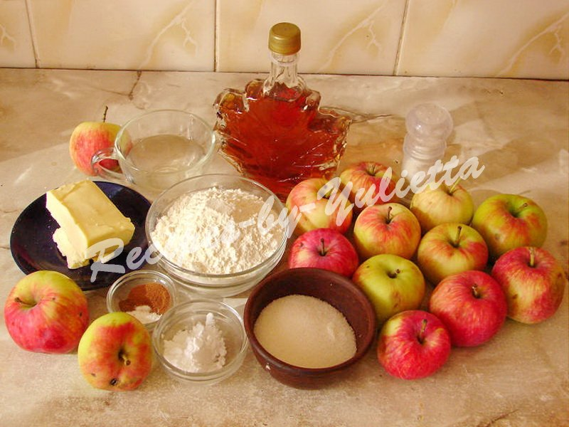 ingredients for apple pandowdy