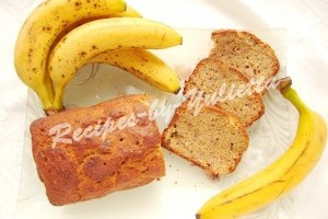 Whole grain banana bread recipe