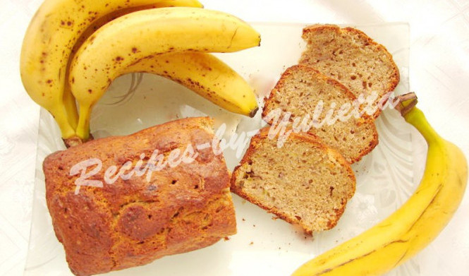 Whole grain banana bread recipe