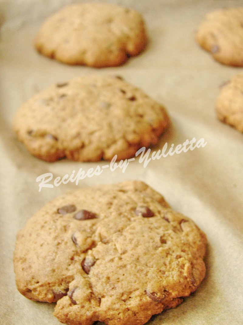 how to bake chocolate drops cookies