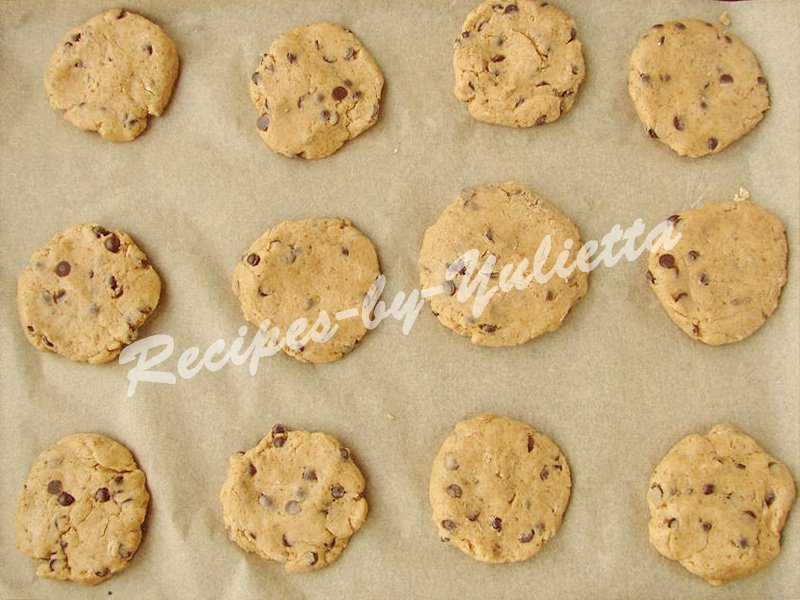 chocolate drops cookies recipe